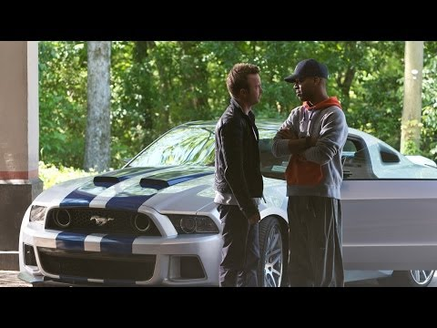 LENGTH - Framed for a crime he didn't commit, muscle car mechanic and street racer Tobey (Aaron Paul) gets out of prison determined to settle the score with the man r...