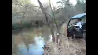 6. Kawasaki Mule 610 4x4 Creek Crossing
