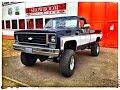 1976-Chevy-K20-Pickup-V8-350-4x4-Longbed-Fleetside-V8-Sound