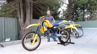 9. Suzuki RM125F  For Sale on Ebay ( May 2016) 1985 8 hours - X racer in Victoria