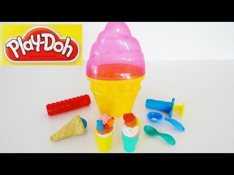 """Игровой набор Play-Doh """"Контейнер с мороженым"""""""