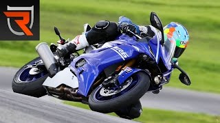 10. 2017 Yamaha YZF-R6 First Test Review Video | Riders Domain