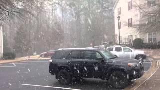Kennesaw (GA) United States  city photo : Snow burst in Kennesaw, Georgia