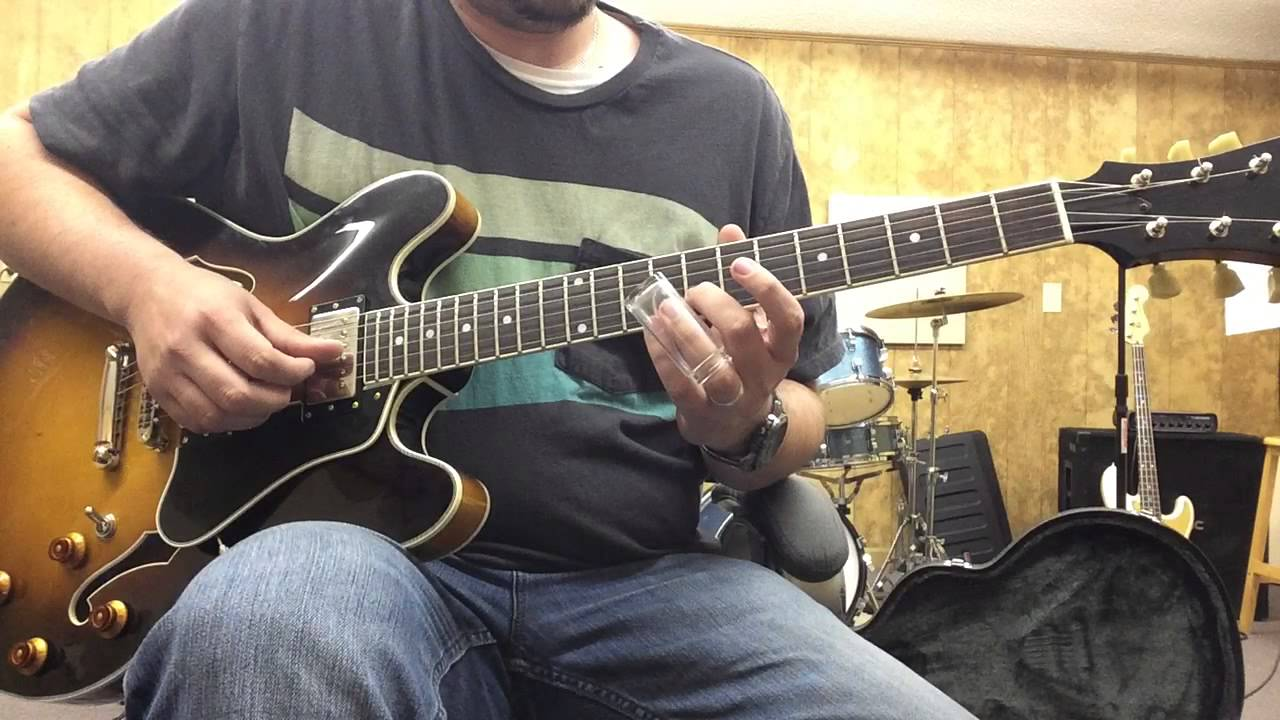 Basic Scales For Slide Guitar In Standard Tuning