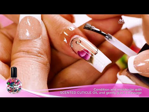french nail art facile