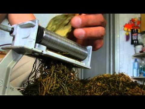 Как сделать табакорезку своими руками в домашних условиях