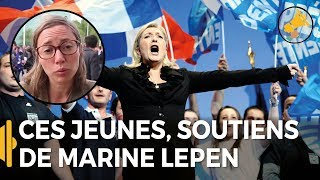 Video Ces jeunes à fond derrière Marine Le Pen MP3, 3GP, MP4, WEBM, AVI, FLV September 2017
