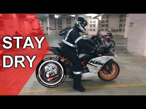 THE BEST RAIN GEAR | Motorcycle riding gear