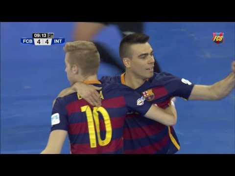 [HIGHLIGHTS] FUTSAL (LNFS): FC Barcelona Lassa- Inter Movistar (6-4)