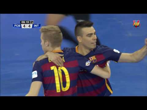 [HIGHLIGHTS] FUTSAL (LNFS): FC Barcelona Lassa- Inter Movistar (6-4)