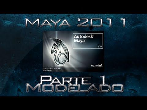 Video 1 de Autodesk Maya: Modelar escena en 3D parte I