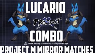 Freaked Out After Landing This Combo w/ Lucario!
