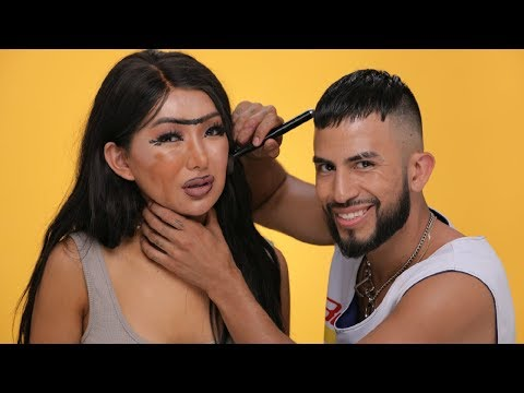 EX BOYFRIEND DOES MY MAKEUP! | Nikita Dragun