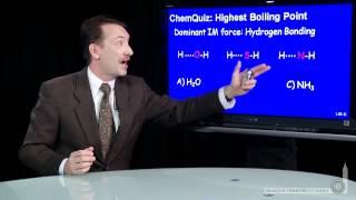 Highest Boiling Point  (Quiz)