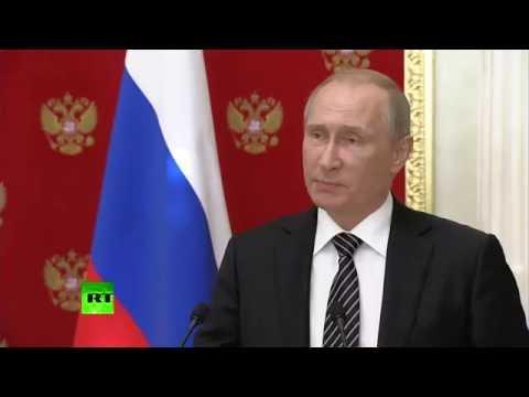 Президент России Владимир Путин о попытке диверсий в Крыму