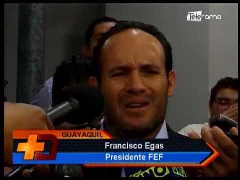 Francisco Egas asumió presidencia de FEF