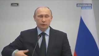 Знаменитая речь Путина : Россия не хочет войны, но в полуоккупации жить не будет !
