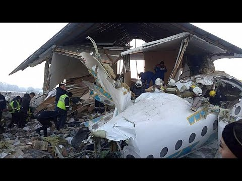Καζακστάν: 12 νεκροί και δεκάδες τραυματίες από συντριβή αεροσκάφους σε σπίτια…