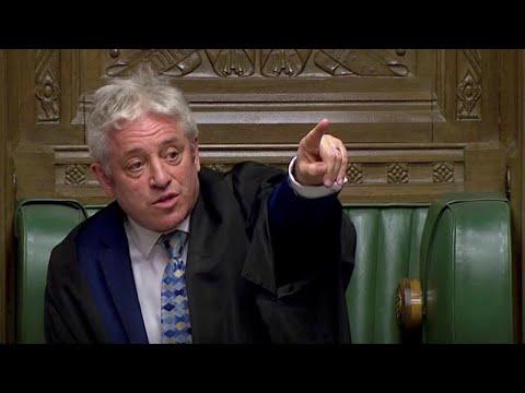 Brexit: Αποκλείει τρίτη ψηφοφορία για την ίδια συμφωνία ο πρόεδρος της Βουλής…