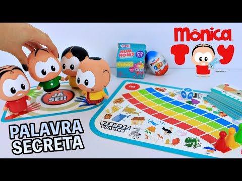 Jogos de meninas - MÔNICA TOY Joga Jogo Palavras Secretas Meninos Vs Meninas  Quem vai ganhar? Em Portugues