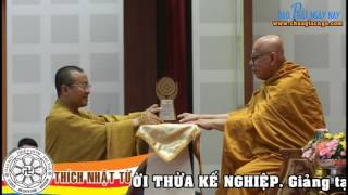 KINH TRUNG BỘ 057 - NGƯỜI THỪA KẾ NGHIỆP - TT.THÍCH NHẬT TỪ