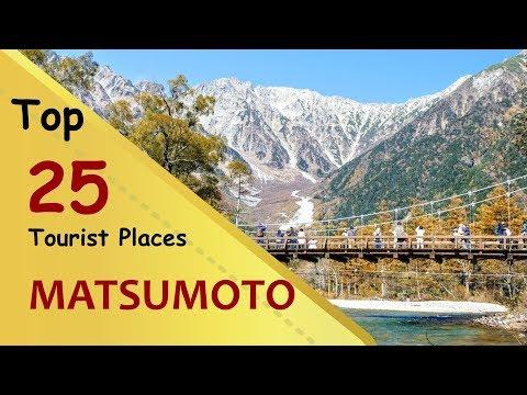 """MATSUMOTO"" Top 25 Tourist Places   Matsumoto Tourism   JAPAN"