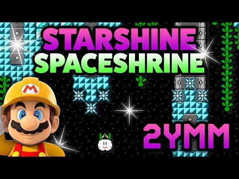 Super Mario Maker [2YMM] - Starshine Spaceshrine [#15] (видео)