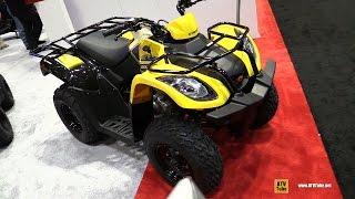 6. 2017 Kymco MXU 150 X - Walkaround - 2016 AIMExpo Orlando