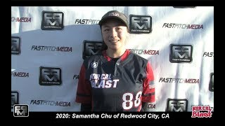 2020 Samantha Chu Shortstop and Pitcher Softball Skills Video