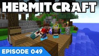 Hermitcraft V 049 | ABBA CAVING w/ RENDOG | A Minecraft Let's Play