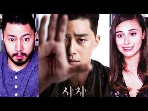 THE DIVINE FURY | Park Seo Joon | Ahn Sung-Ki | Woo Do-Hwan | Trailer Reaction!