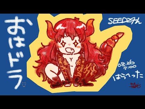 【#SEEDs24h】おはドラ!