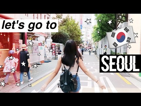 Let's Go To Seoul! 🇰🇷  | Vlog Pt. 1: Myeong-Dong