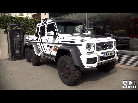 Brabus Super G 700 London