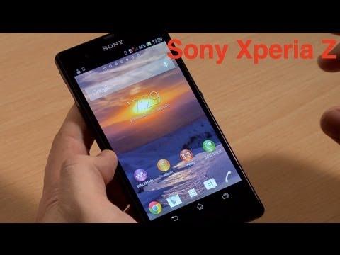 Sony Xperia Z - wideoprzegląd