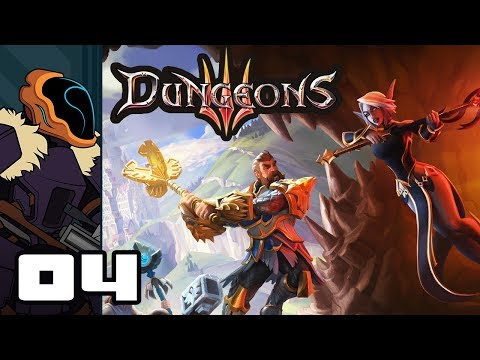 Let's Play Dungeons 3 - PC Gameplay Part 4 - Endless Hordes Of Undead! (видео)