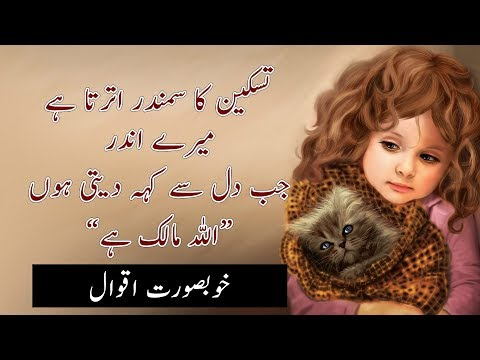 Urdu Quotes That Will Make You Feel Better |Amazing Quotes | Urdu Aqwal |Laila Ayat Ahmad