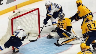 Watch as the St. Louis Blues take advantage of the icing rule and opening the scoring against the Nashville Predators in Game 6.