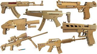 Video My Cardboard Arsenal - Glock, Ak47, Sniper, M4, Mp5 ect. MP3, 3GP, MP4, WEBM, AVI, FLV Februari 2019