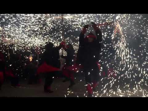 Correfoc Festa Major Ripollet 2017 (видео)