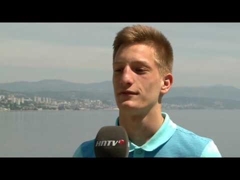Ivan Nekić uoči počteka Europskog prvenstva