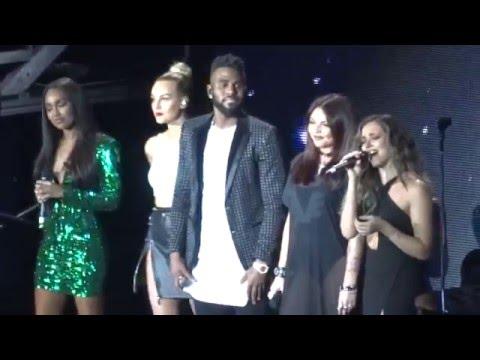 Jason Derulo & Little Mix  - Secret Love song - O2 Arena - 05/02/16