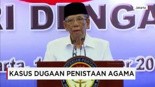 KH Hasyim Muzadi : Kasus Ahok Berpotensi Diboncengi