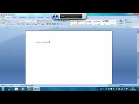 Speech Recognition - Windows 7 RC