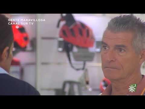 Manolo Sarria, a favor de un discapacitado: