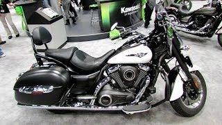 6. 2014 Kawasaki Vulcan 1700 Nomad ABS Walkaround - 2013 New York Motorcycle Show
