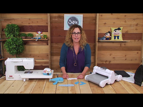 DIY Whale Softie With Jennifer Jangles | Sizzix Quilting