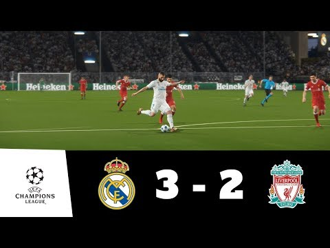 Real Madrid vs Liverpool All Goals & Extended Highlights 1080p HD   UEFA CL Final   PES 2018