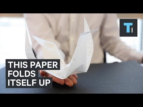Crazy New Self Folding Paper