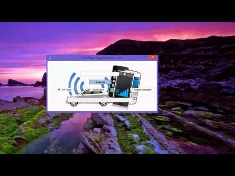 Free Cell Phone Signal Booster 2013 Review (Downloadable Cell Phone Signal Booster)